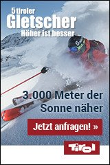 Gletscherfrühling auf den 5 Tiroler Gletschern