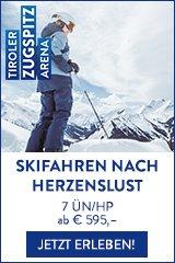 Skigebiet Zugspitz Arena
